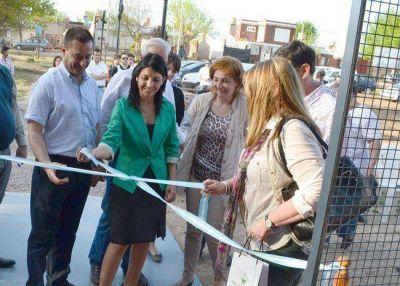"""Inauguraron el centro de interpretación en la reserva """"Los Caldenes"""""""