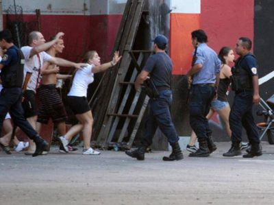 Procesado por balear a un policía el día en que el clásico fue suspendido