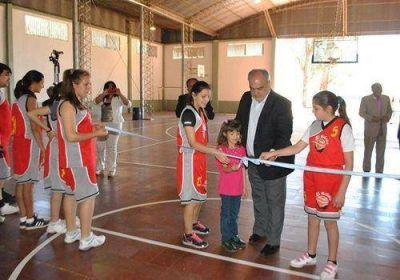 El Gobernador participó de la fiesta patronal de Caá Catí e inauguró varias obras