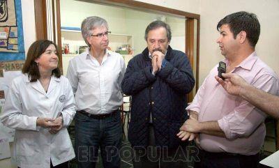 """Alfonsín: """"Podemos vivir sin publicidad pero lo que necesitamos son escuelas"""""""