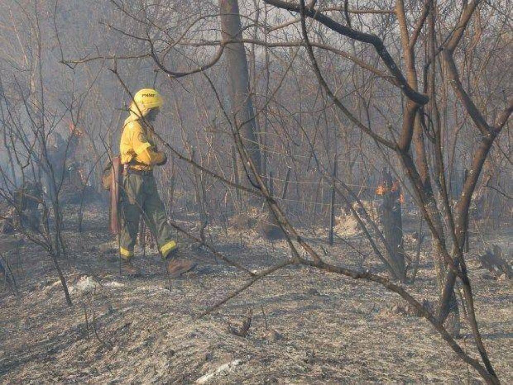 En el Ramal persisten los incendios forestales