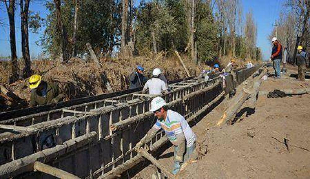 Irrigación trabaja en la modernización de la red hídrica provincial
