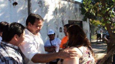 Candidatos del FpV cumplieron una importante agenda y el Intendente hizo anuncios para el Mariano Moreno