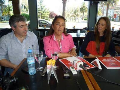 Gambaro pormenorizó el proyecto de seguridad de De Narváez