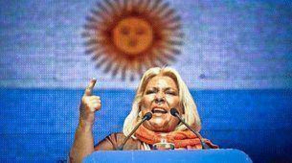 Elisa Carrió quiere poner a Jorge Luis Borges como candidato