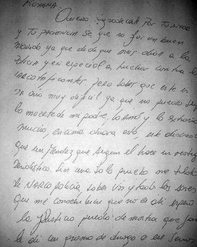 """Narcopolicías: podrían haber """"plantado"""" la carta de Alós"""