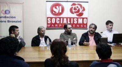 El Diputado Jorge Rivas estuvo junto al Socialismo Marplatense y los candidatos del FpV