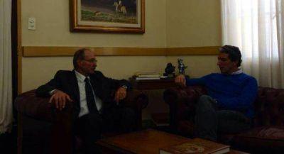 Pepe Scioli, junto al Intendente Gobbi de Chascomús
