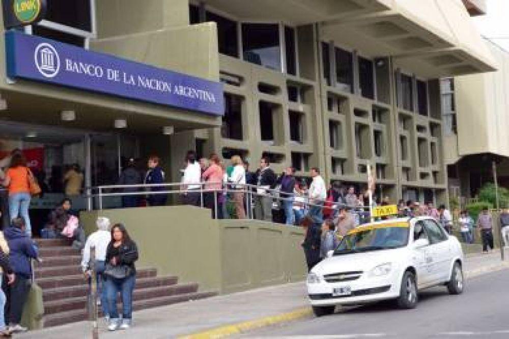 Paro de jornada completa en todas las sucursales de Banco Nación