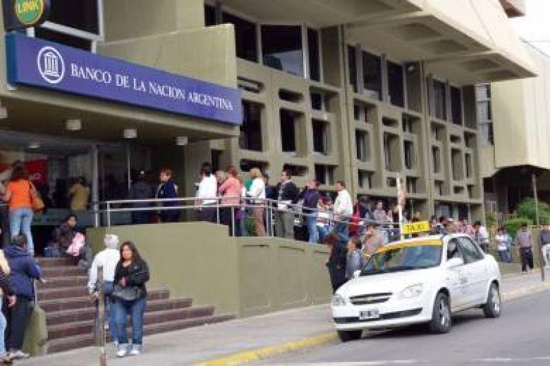 Paro de jornada completa en todas las sucursales de Banco Naci�n