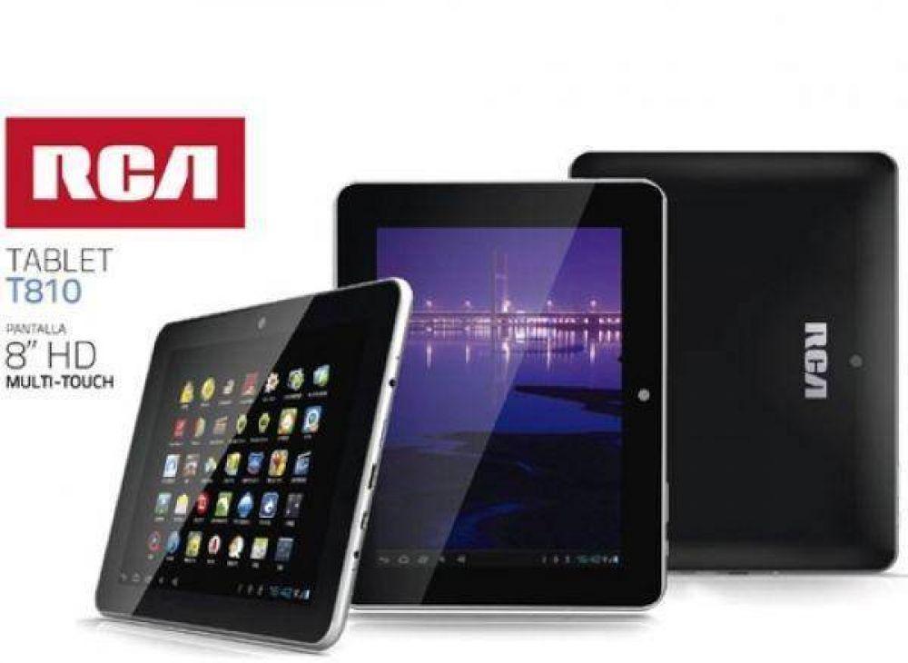 RCA presenta la nueva tableta T810, ensamblada en Tierra del Fuego