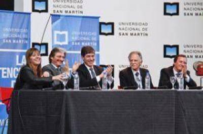 """Grosso: """"La UNSAM demuestra la inversión del Gobierno Nacional en inclusión social"""""""