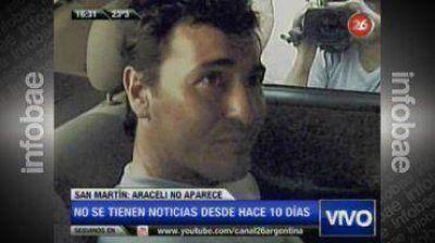 """""""No sé dónde está Araceli"""", aseguró el ex suboficial imputado en el hecho"""