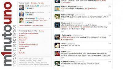 Los usuarios de Movistar hicieron catarsis a través de Twitter