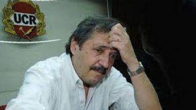 Ricardo Alfonsín, en Necochea