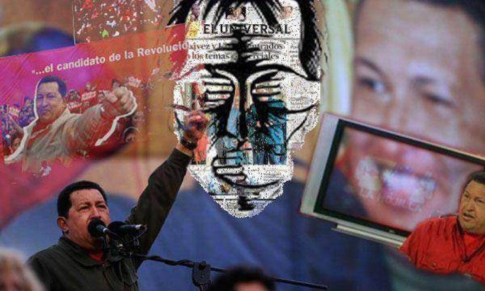 Un nuevo ataque de Chávez a la prensa: allanó la casa del presidente de Globovisión