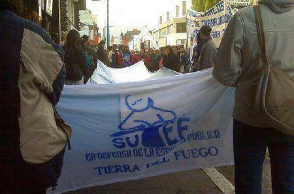 El SUTEF determinó paro hasta que el Gobierno pague