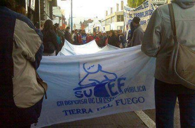 El SUTEF determin� paro hasta que el Gobierno pague