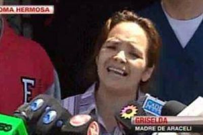 """Habló la madre de Araceli Ramos: """"Ver a mi hija así me destruyó más"""""""