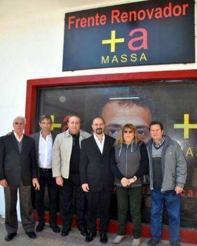 Inauguraron un nuevo bunker de Sergio Massa y apuestan a consolidar los candidatos locales