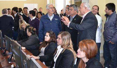 Inauguraron Centro de Monitoreo y m�s Wi Fi