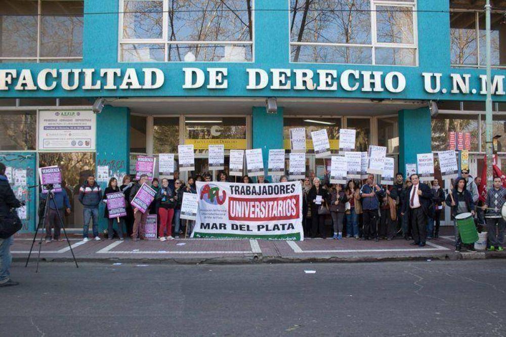 Trabajadores universitarios: hubo acuerdo y finalizó el conflicto