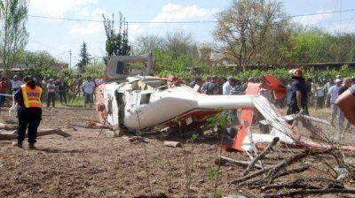 Las imágenes del accidente del gobernador José Luis Gioja