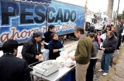 """""""Lácteos y Pescados para Todos"""" hoy en Patricios"""