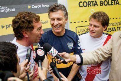Mauricio Macri y Santilli apoyaron a Campbell en San Fernando