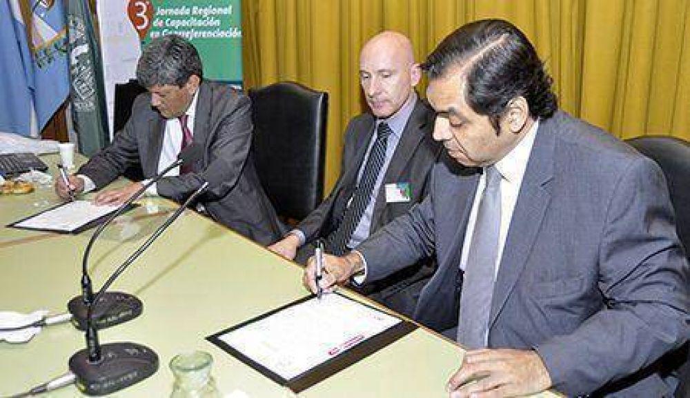 ATM avanza en un convenio de colaboración con el Instituto Geográfico Nacional