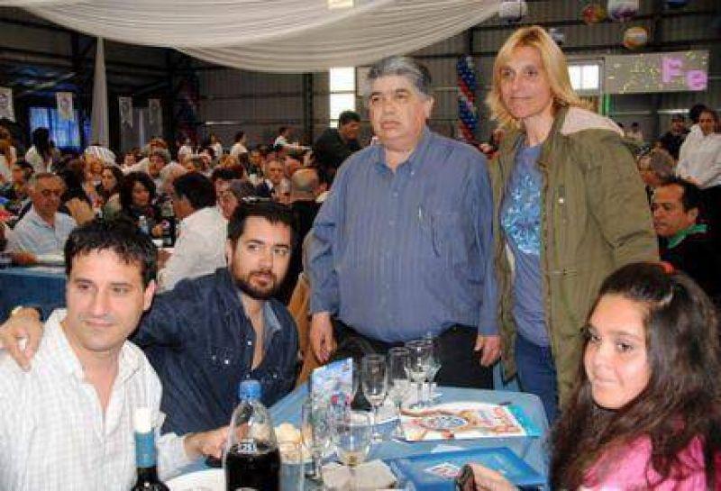 Baragiola reconoció, en nombre del HCD, al sindicato lucifuercista