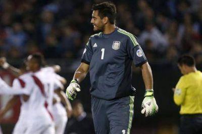 ¿Sergio Romero deja la titularidad ante Uruguay?