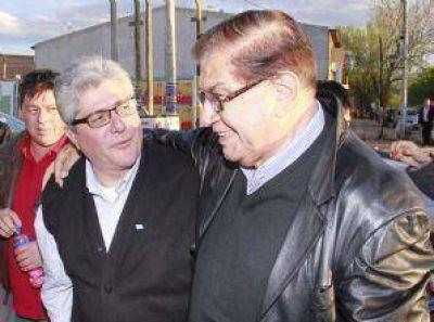Pereyra se reuni� con sindicalistas