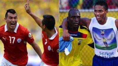 Chile y Ecuador quieren asegurar sus pasajes al Mundial