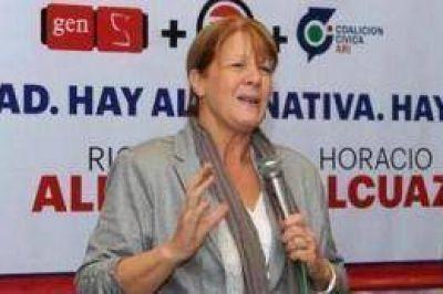 """Margarita Stolbizer propone dividir al partido de La Matanza para """"superar las desigualdades"""""""