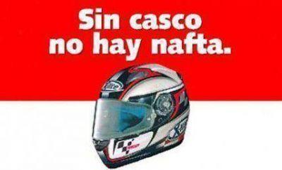 Avanza proyecto que prohíbe venta de combustible a motociclistas sin casco