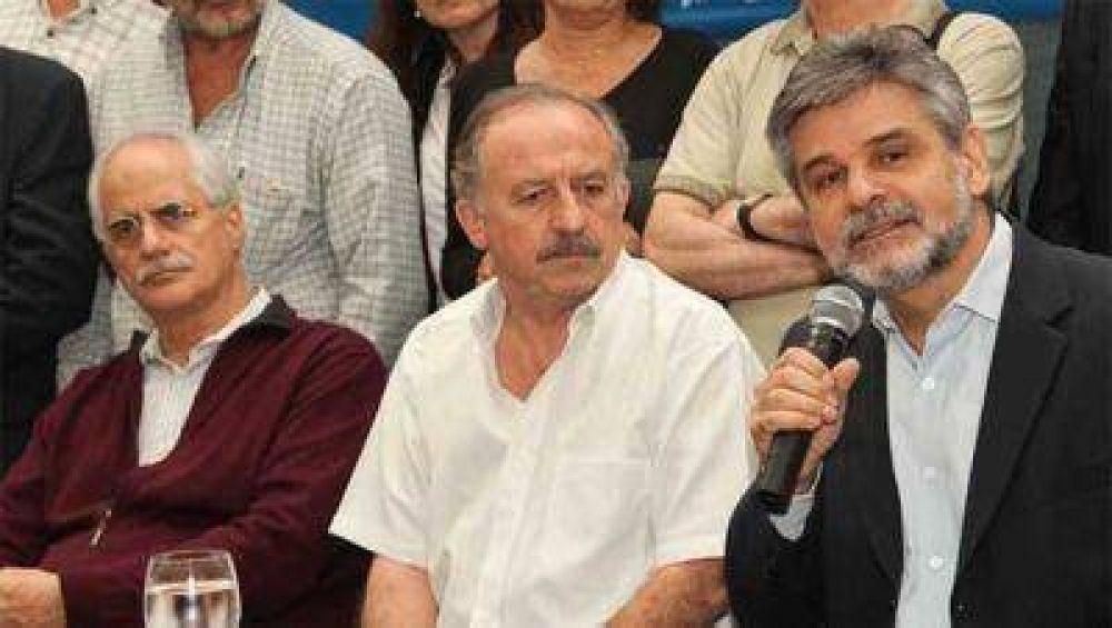 Filmus y Taiana recibieron el respaldo de la CTA de Yasky