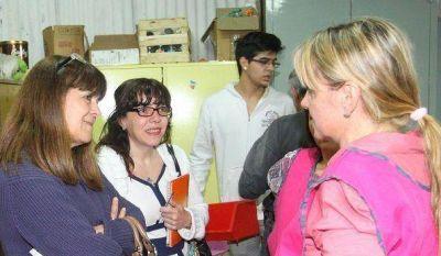 San Martín: Nancy Katopodis se reunió con vecinos de Chilavert y Villa Zagala