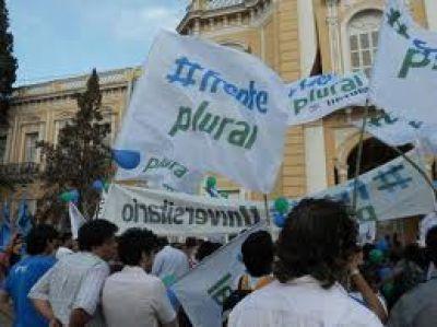 El Frente Plural apoya la toma del rectorado de la UNSa