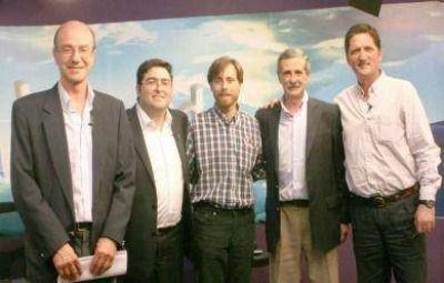 A diez días de los comicios, los cinco candidatos expusieron sus propuestas en El Eco Multimedios