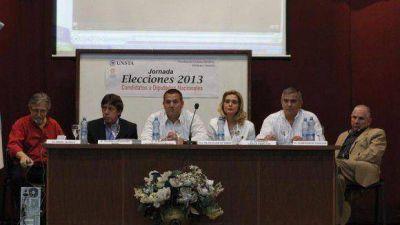 Candidatos a diputados nacionales mostraron sus propuestas en debate