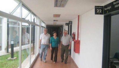 Candidatos de Frente Progresista visitaron el Hospital