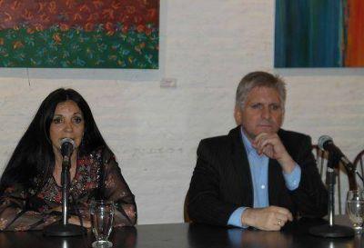 Santillán y Durrieu encabezaron una charla sobre seguridad en San Isidro