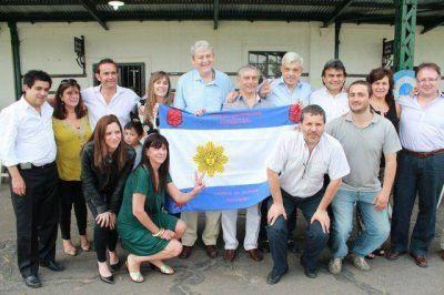 Gutiérrez participó de la peña K por el Día de la Lealtad en la Quinta de San Vicente