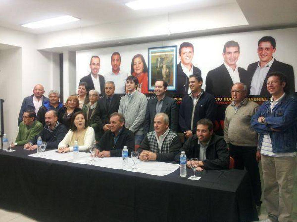 Se conformó la Mesa Sindical del Frente Renovador