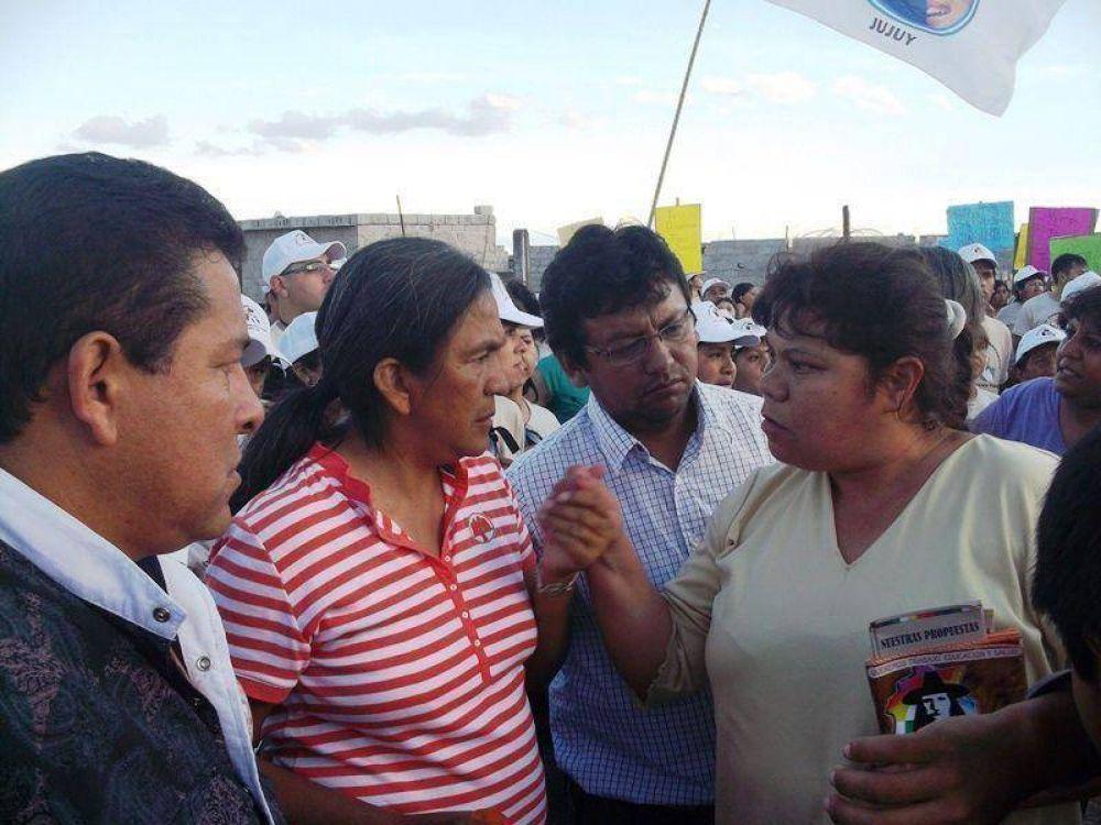 MULTITUDINARIA CAMINATA DE UNIDOS Y ORGANIZADOS EN ALTO COMEDERO