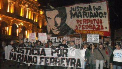 El PO marchará a tres años del asesinato de Mariano Ferreyra
