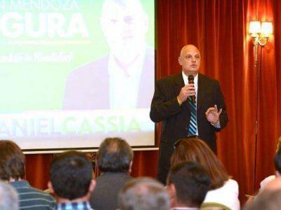 """El legislador Daniel Cassia pidió """"blindar a Mendoza"""""""