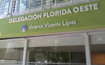 Vicente López: Tras los incidentes en la Municipalidad, Jorge Macri inauguró la remodelada Delegación Florida Oeste