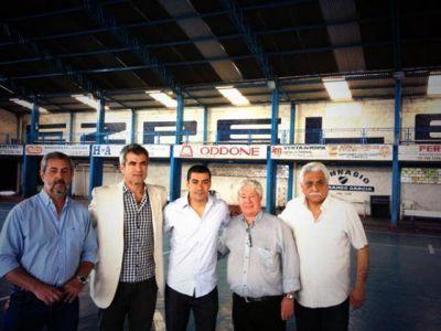 Elizondo y Queijeiro visitaron instituciones deportivas